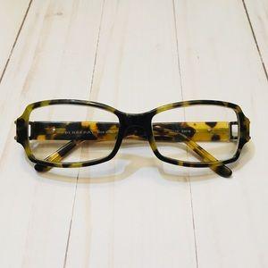 Burberry tortoiseshell square-frame glasses